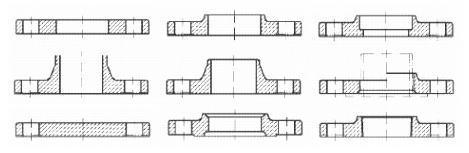 フランジ-配管規格