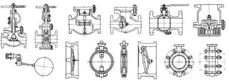 バルブ・弁-配管規格